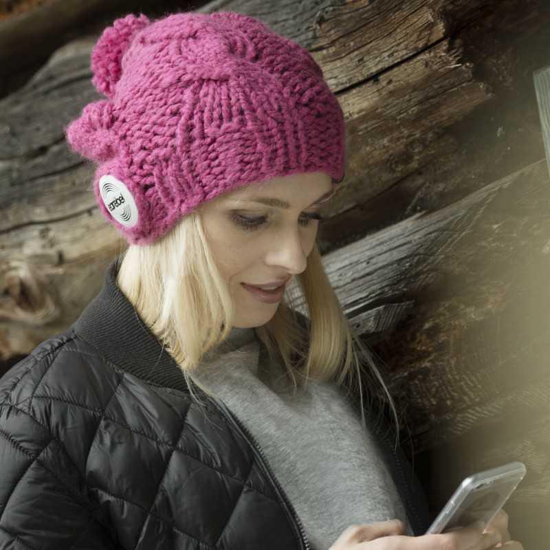 Czapki opaski ze słuchawkami bluetooth Earebel na zime 2