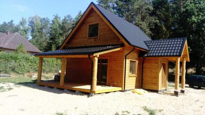 Domy drewniane szkieletowe Pomorskie Gdańsk Góra 3