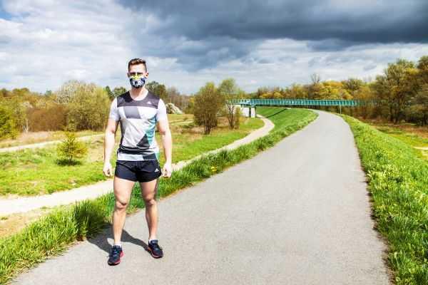 Maski antysmogowe do biegania przeciwpylowe respro 5