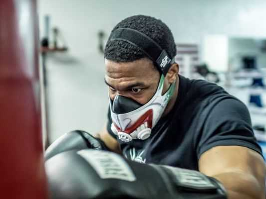 maska treningowa training mask do treningu